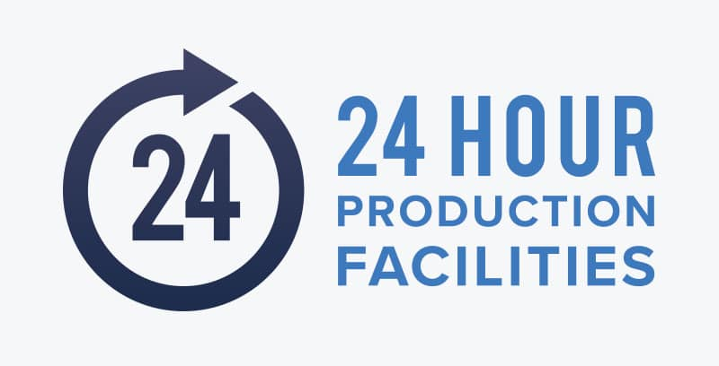 24 hour production facilities for plastic injection moulding
